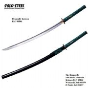 Dragonfly Katana With Black High Gloss Scabbard (Saya)